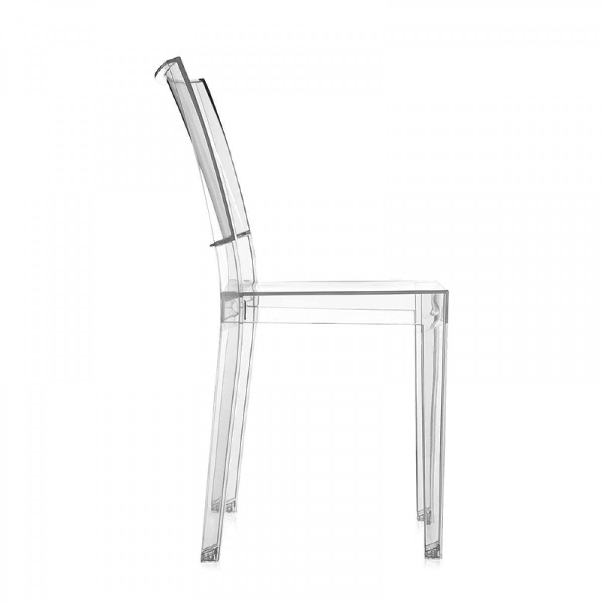 Noleggia online la sedia Kartell Le Marie trasparente per il tuo ...