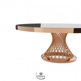 Noleggio di Tavolo in legno decapato stile Shabby Opera
